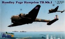 Valom 1/72 Model Kit 72042 Handley-Page Hampden T Mk.I